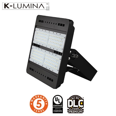 LED Flood Light – 150W – Flood Mount – UL&DLC - 5 Year Warranty