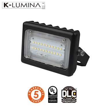 LED Flood Light – 15W – Flood Mount – UL&DLC - 5 Year Warranty