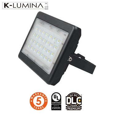 LED Flood Light – 50W – Flood Mount – UL&DLC - 5 Year Warranty