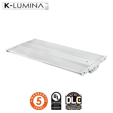 LED Linear High Bay Light - 165W - Frosted Lens - Chain Mounting - 142LM/W - UL&DLC - 5 Year Warranty