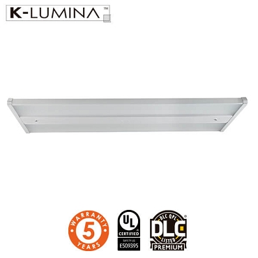 LED Linear High Bay Light - 220W - Frosted Lens - Chain Mounting - 140LM/W - UL&DLC - 5 Year Warranty