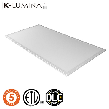 LED Panel - 2x4 ft - 50W - 5000lm - 5000K Cool White - Dimmable - ETL+DLC